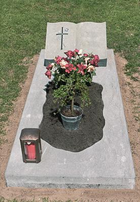 Einzelgrabstein