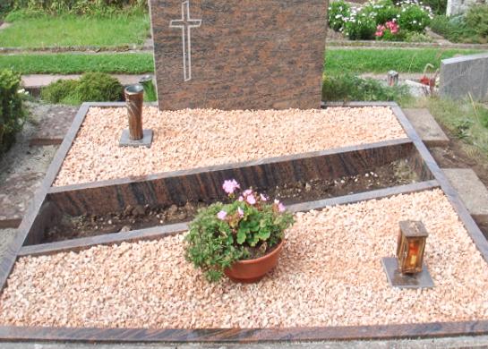 Grabgestaltung pflegeleicht